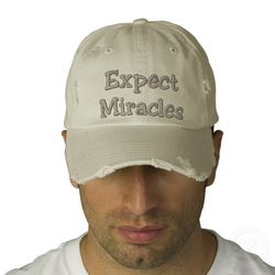 Expect_miracles_embroidered_hat